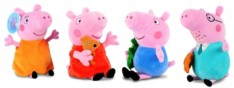 PEPPA PIG MASCOT CELÁ SPEVNÁ RODINA PL