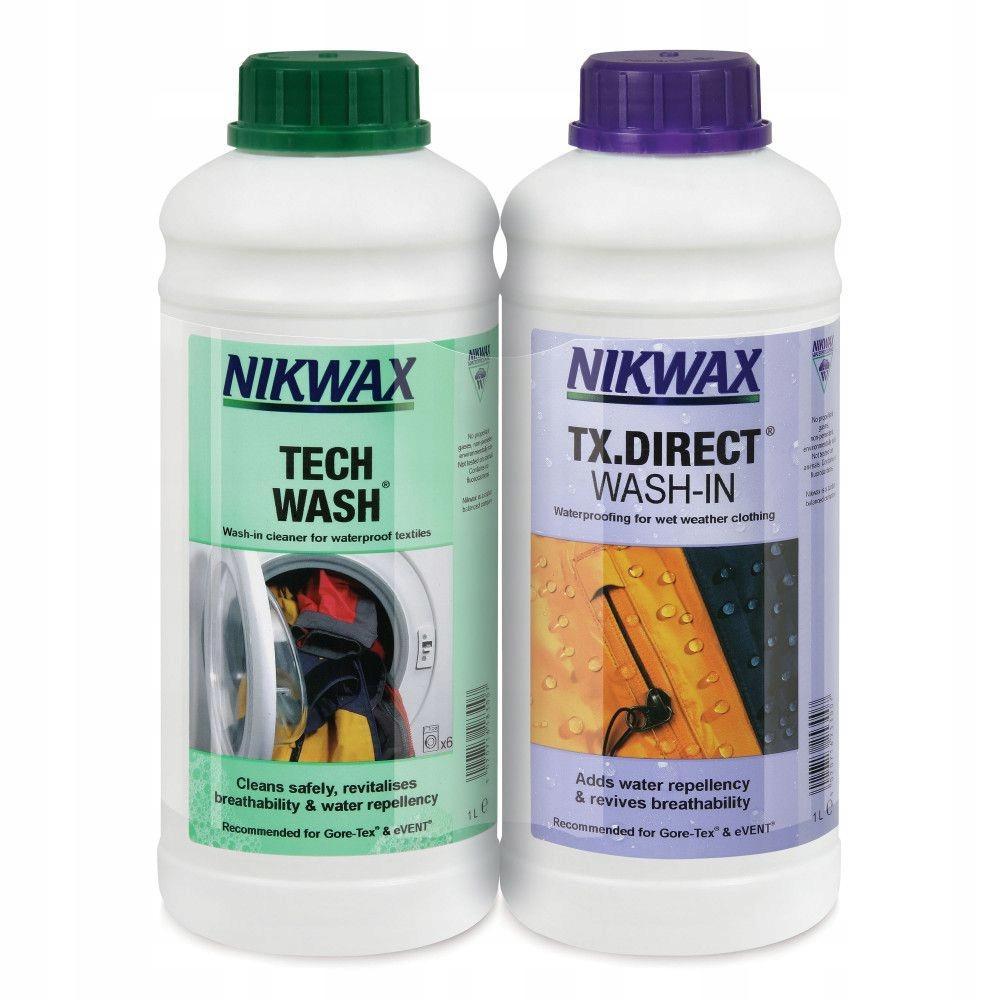 Nikwax Tech Wash 1L + TX. Direct Wash-In 1Л