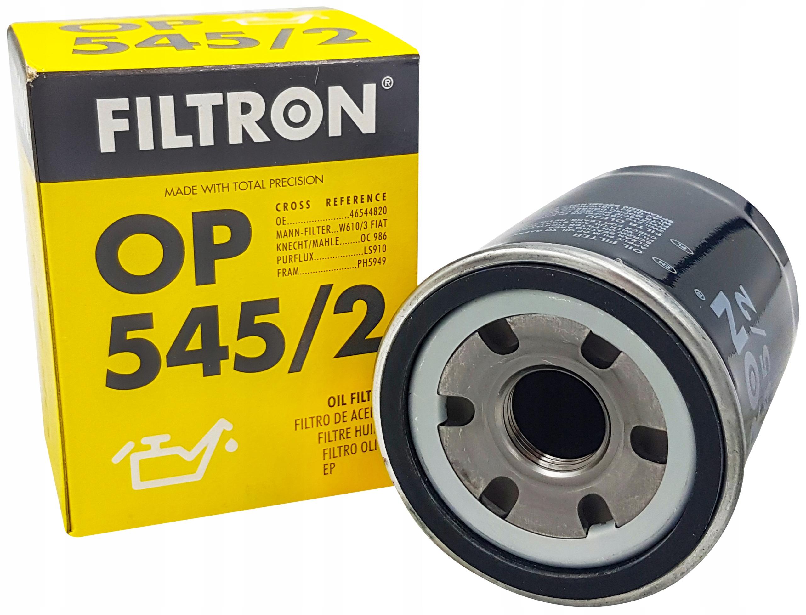 фильтр масла filtron к fiat stilo punto 12 14