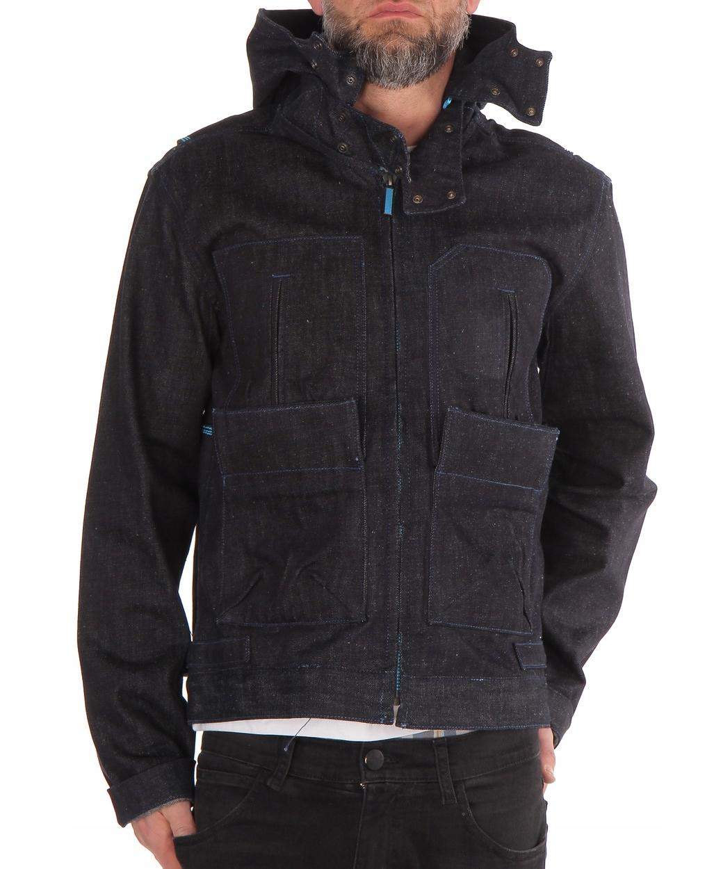 Wrangler short jacket JEANSOWA KURTKA KAPTUR L