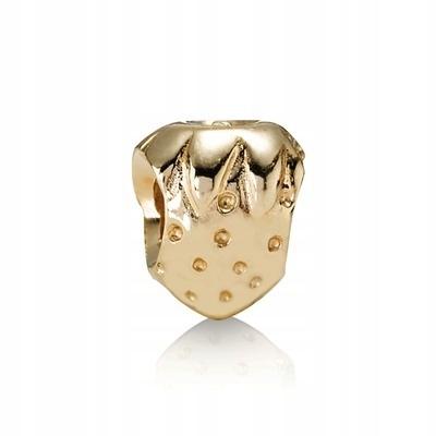 Pôvodné Pandora prívesky 750240 Zlato jahoda