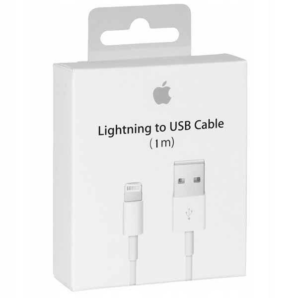 Oryginalny Kabel Iphone X Xr 8 7 + 6 6s 5s Se Usb