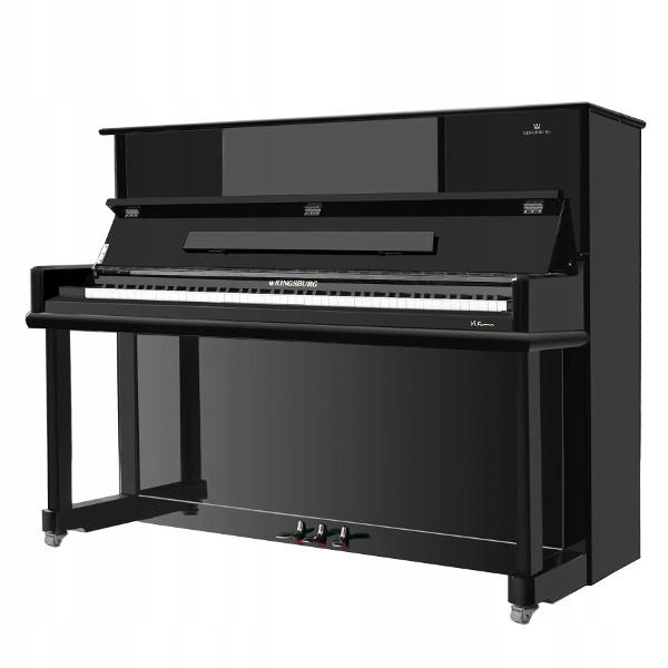 Piano Kingsburg Kalifornia 126 čierny lesk