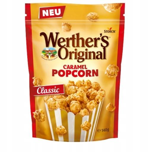 WERTHERS ORIYGINAL CARAMEL Popcorn Классик ГЕРМАНИЯ