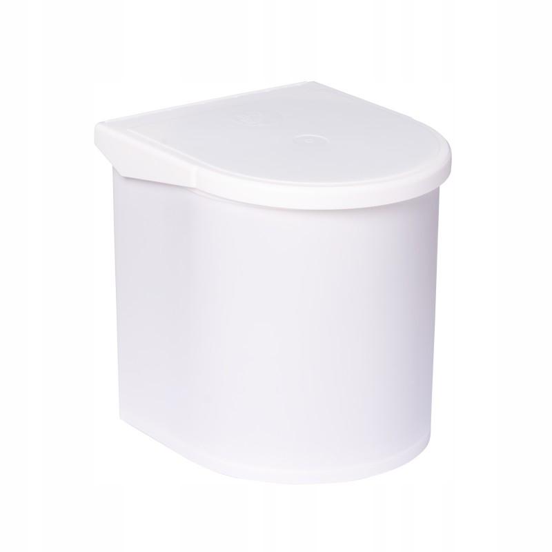 Корзина для мусора белый 12L