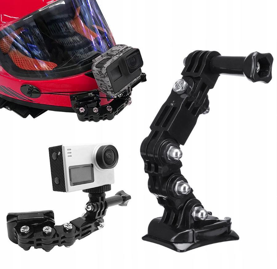 Держатель крепления для камер GoPro SJCAM EKEN на шлем