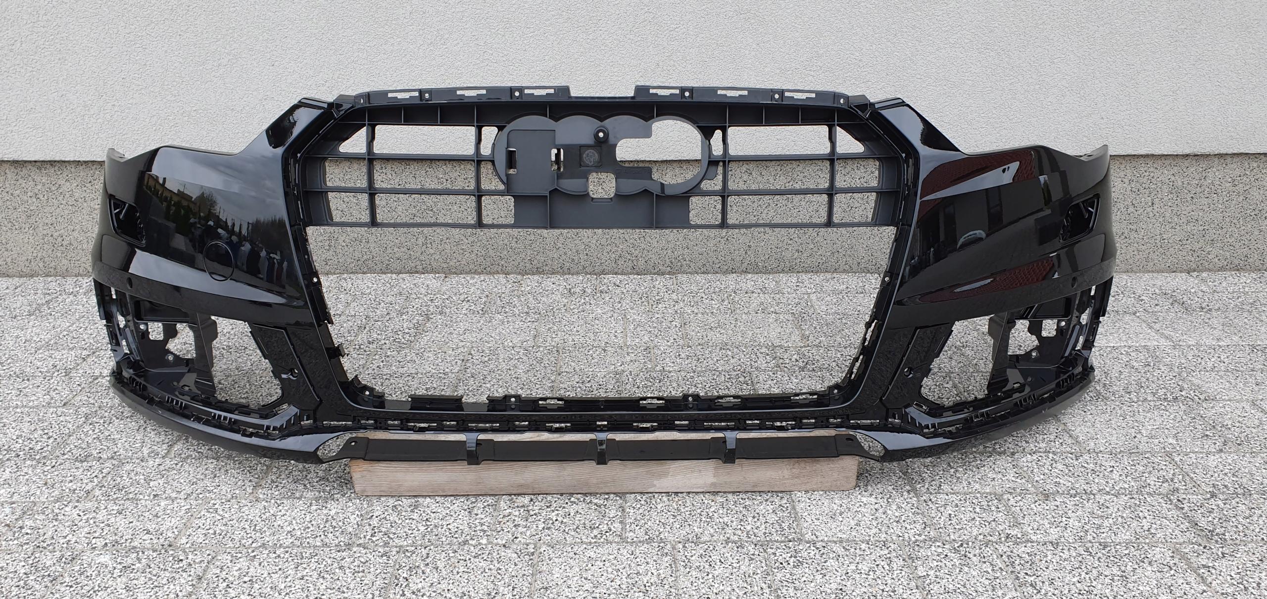 audi a6 c6 lift allroad бампер вперед оригинала h187