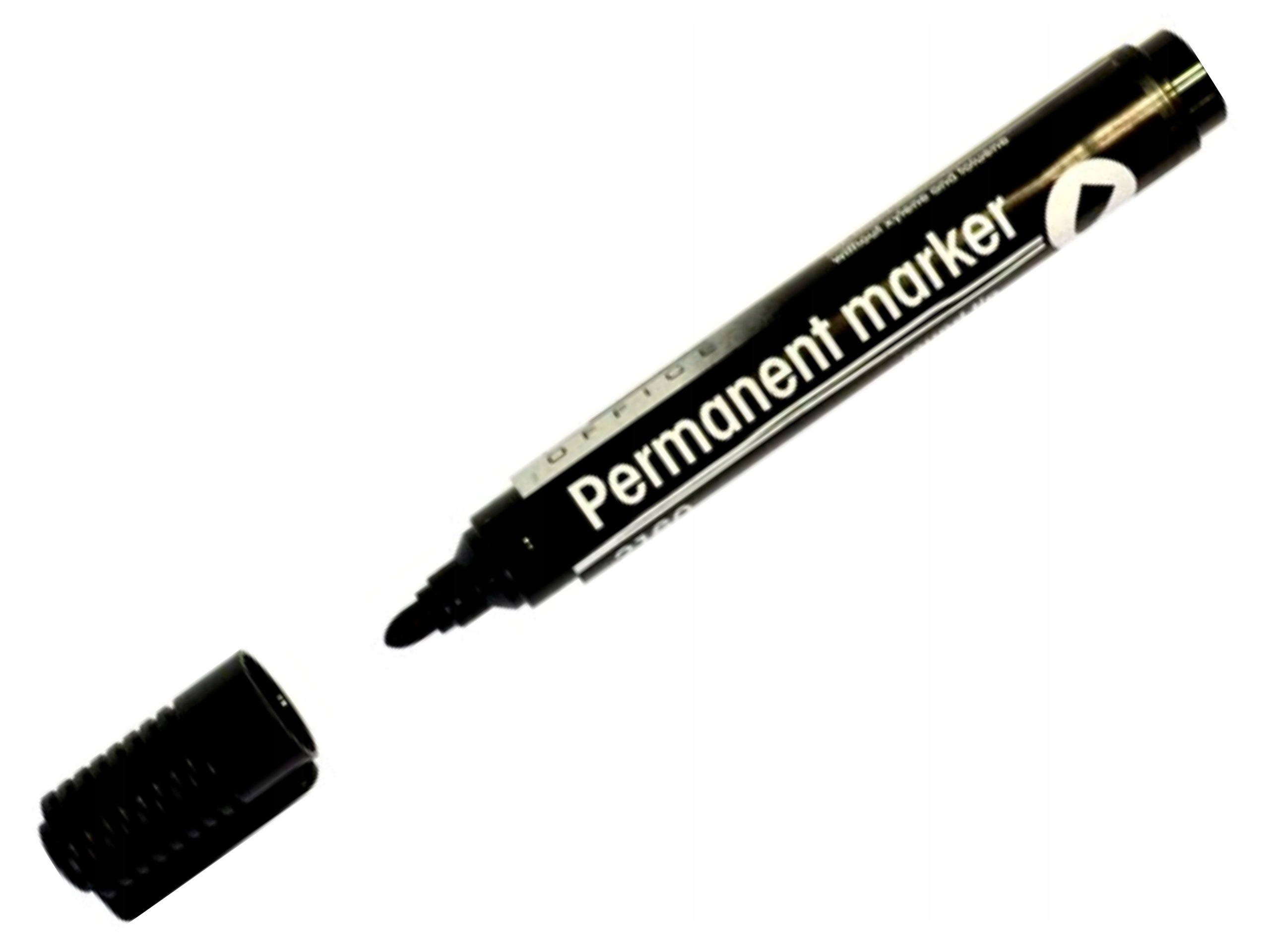 Item MARKER, PERM. D. RECT 2160 round tip BLACK
