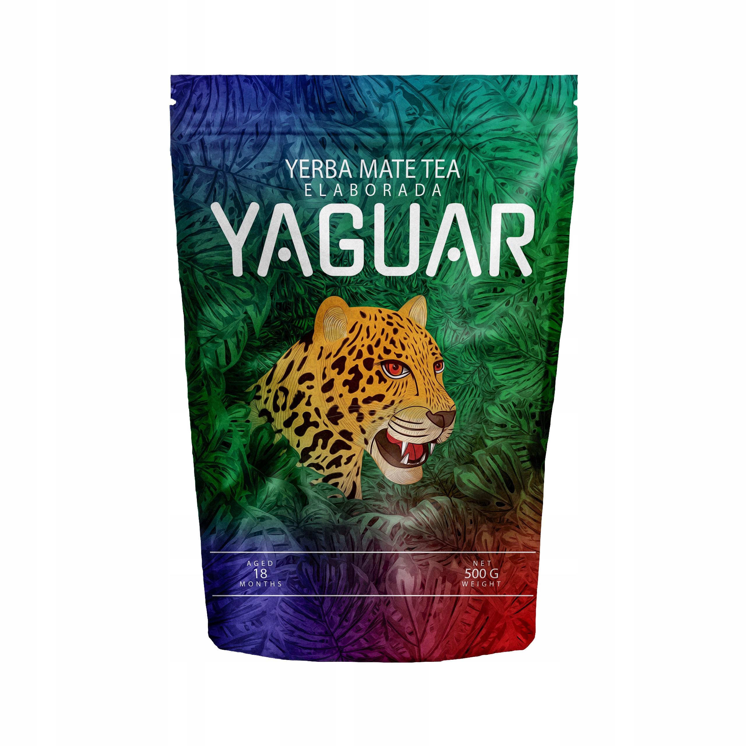Yerba Mate Yaguar Elaborada Ноль ,5 кг 500 г НОВИНКА