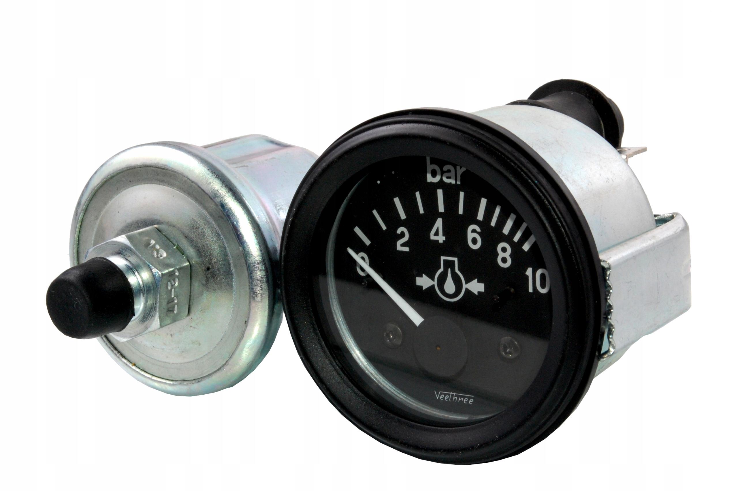 универсальный индикатор давления масла + датчик 12v