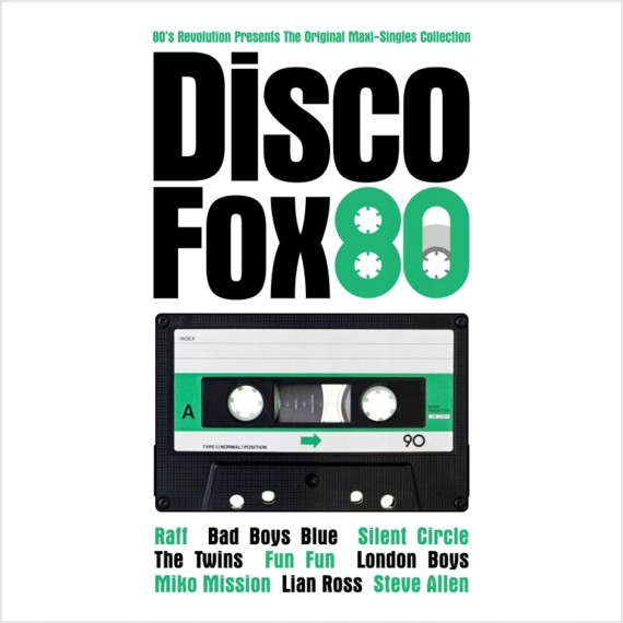 Original Maxi-Singles Collection Disco Fox 80 состоят из костной ткани, доставка товаров из Польши и Allegro на русском