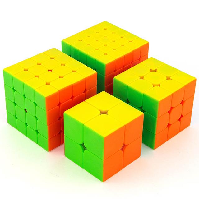 Sada Rubikovej kocky 2x2x2 3x3x3 4x4x4 5x5x5