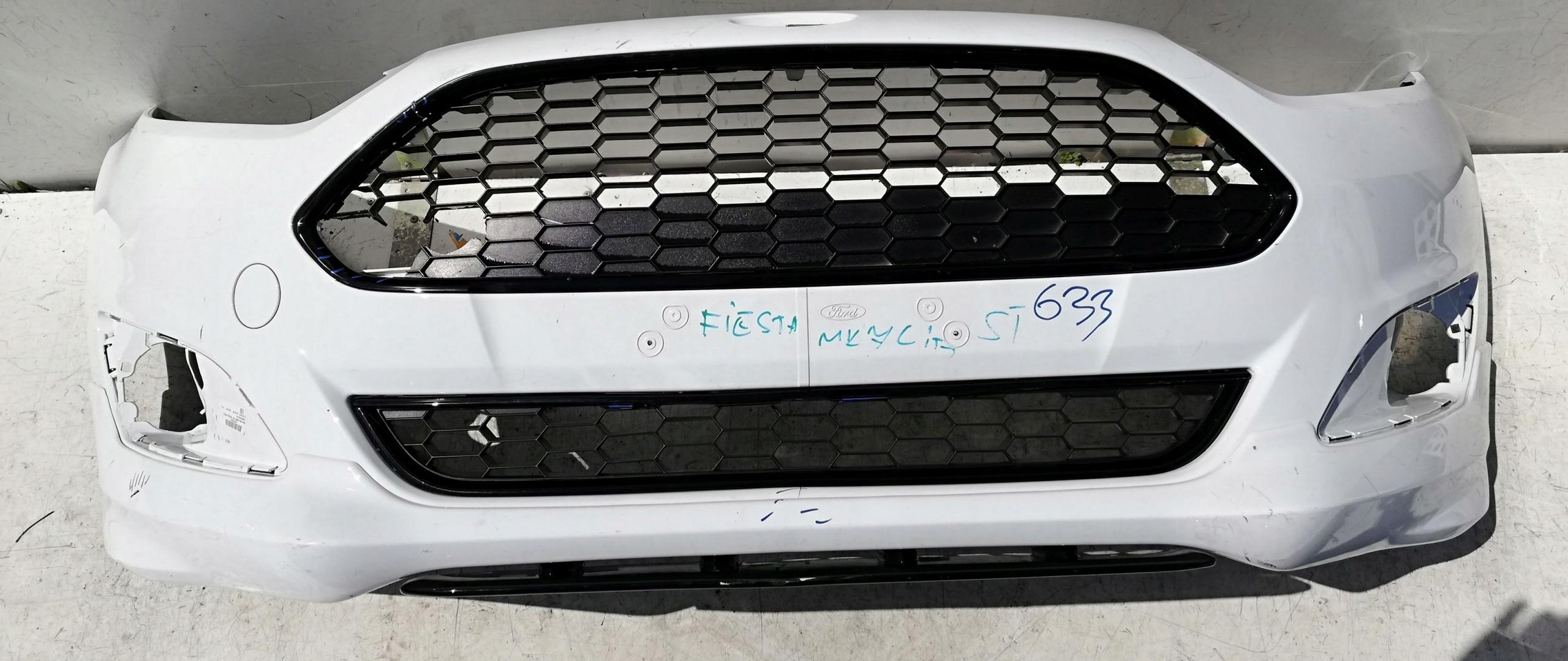 ford fiesta mk7 vii st lift 12- бампер передний