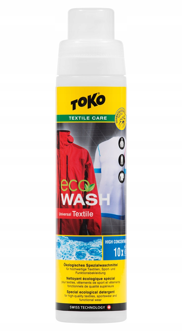 #TOKO средство для стирки ECO TEXTILE WASH Вверх Tex
