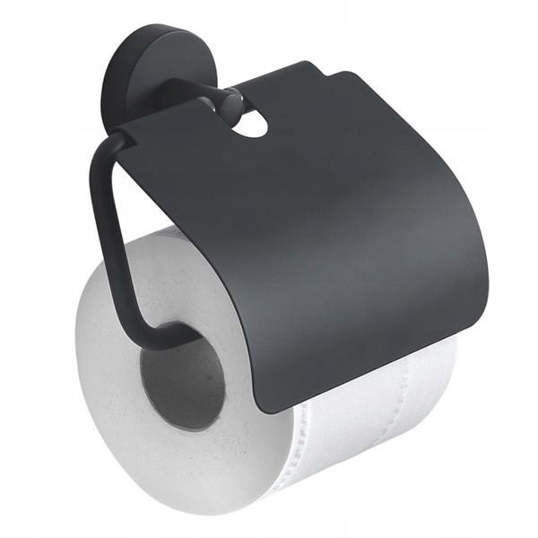 Držiak na papier s čiernou chlopňou Eros