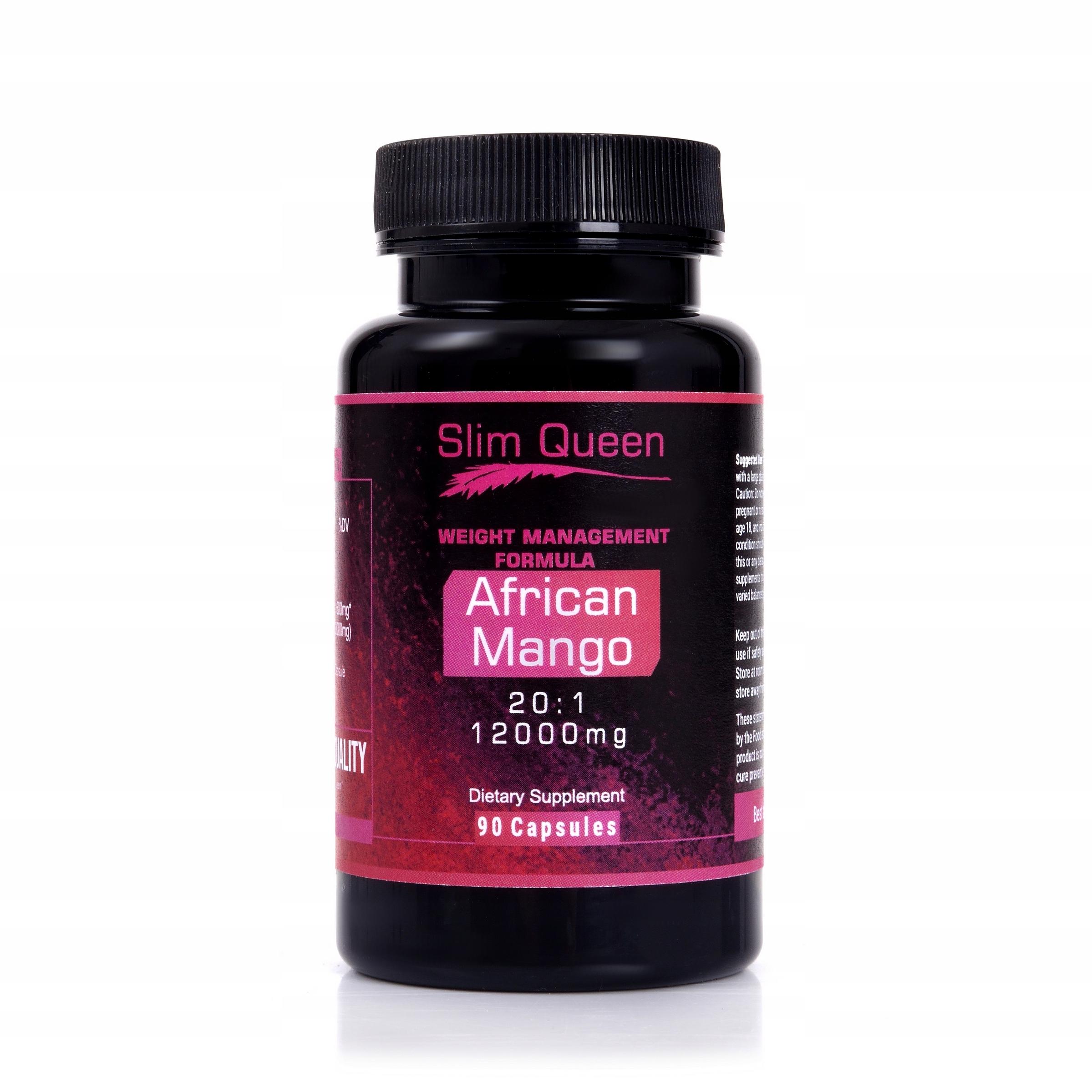 AFRICAN MANGO 12000mg 20:1 ODCHUDZANIE MOCNE 90kap