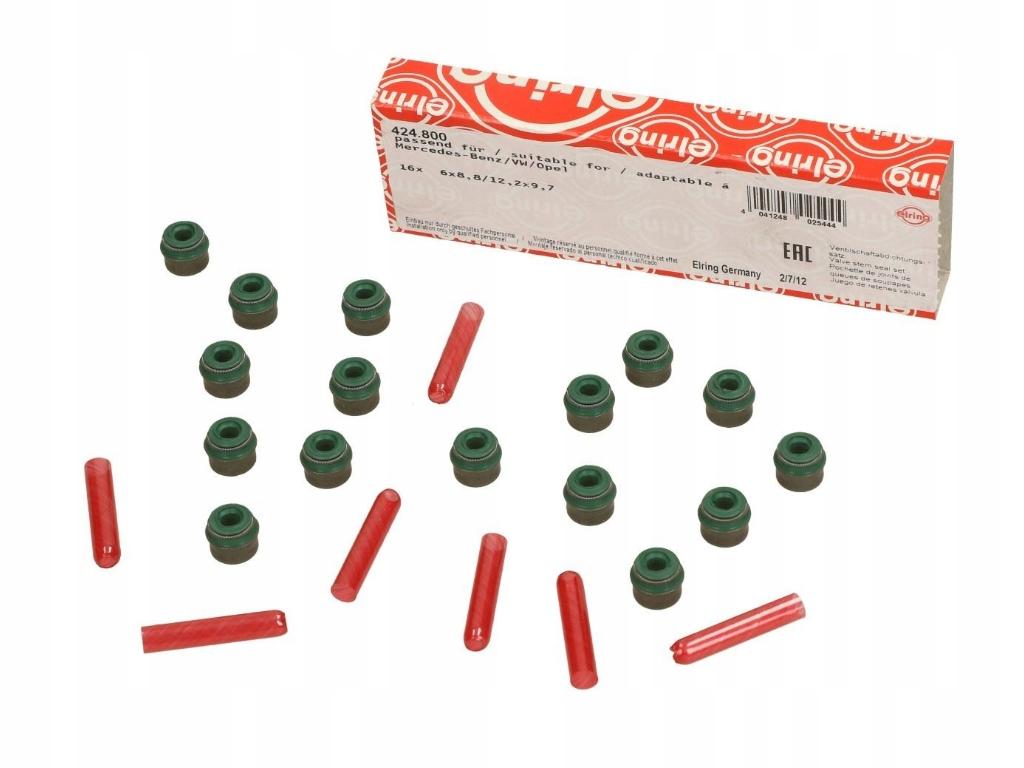 16 x комплект герметики клапанов opel astra f g h