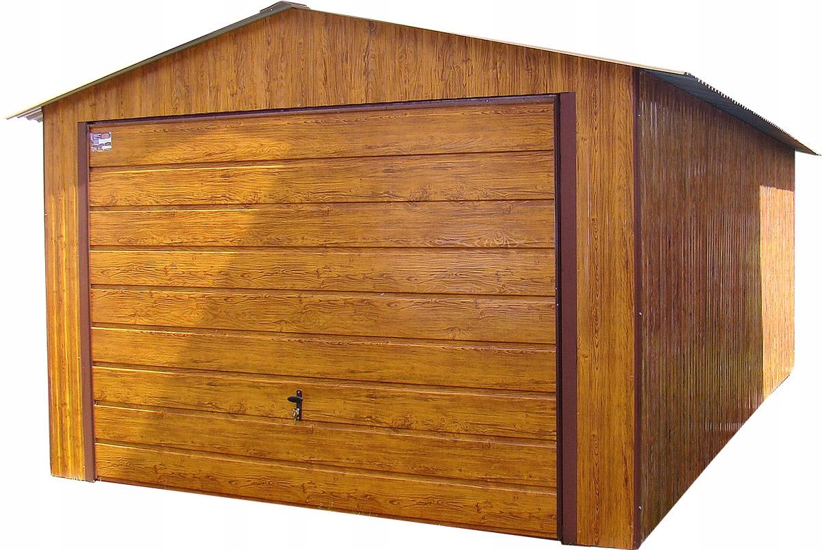Tin Garages 3.5x5 Tin Garage ЗОЛОТОЙ ДУБ