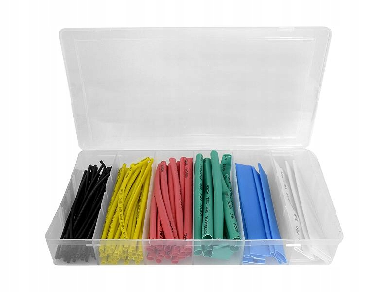 SET OF SHRINK TUBES COLOR 100pcs