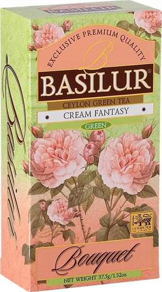 Basilur зеленый чай VANILLA ROSE STRAWBERRY