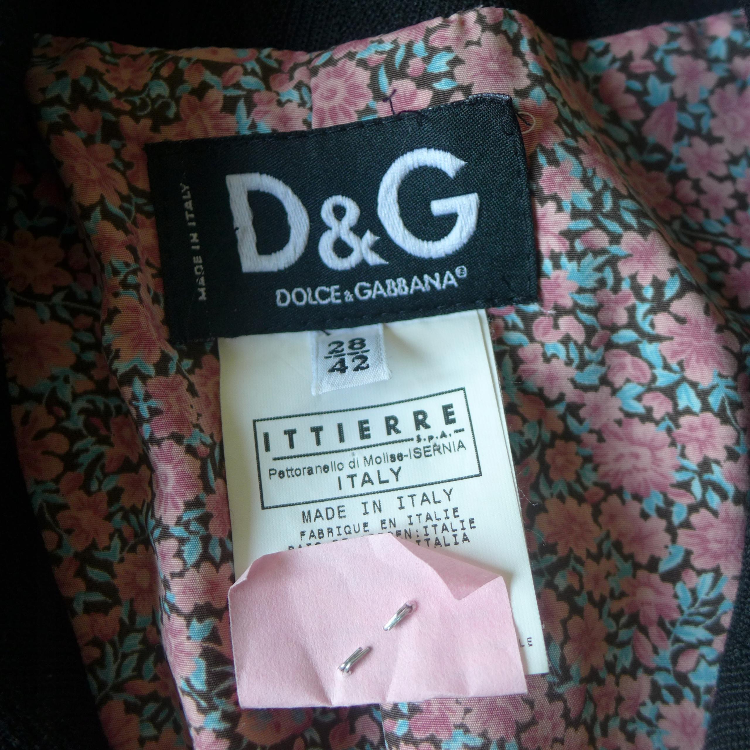 Dolce&Gabbana_płaszczyk 100%oryginalny_R:S