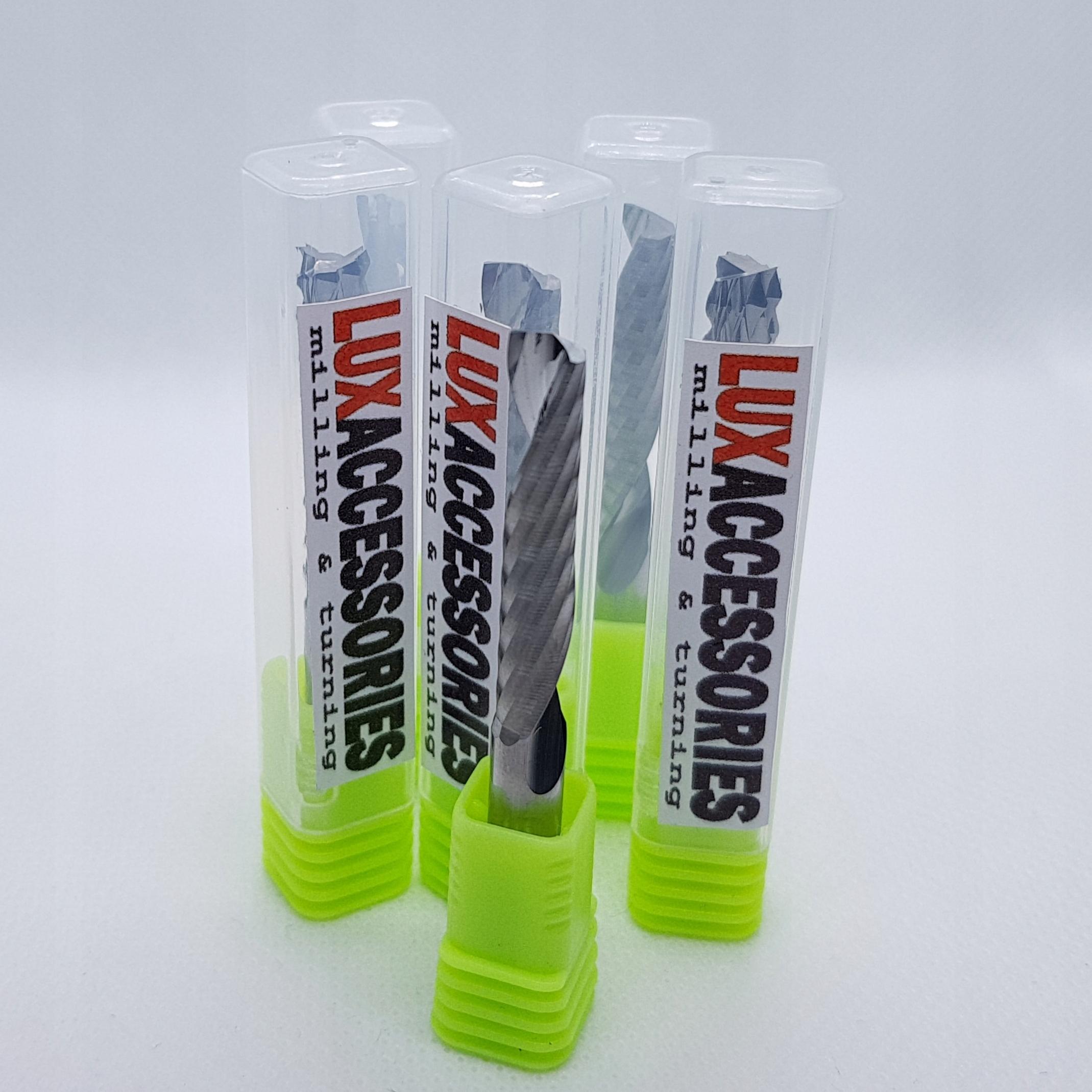 Frez VHM 1 piórowy do PVC Drewna 3.175 x 17 x 38 !