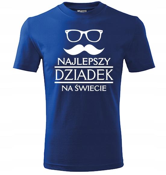 Koszulka SUPER prezent dla DZIEŃ DZIADKA BABCI XL