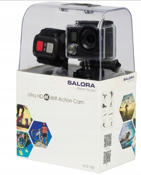 ACE700 Sports Camera Ultra HD (4K) WiFi