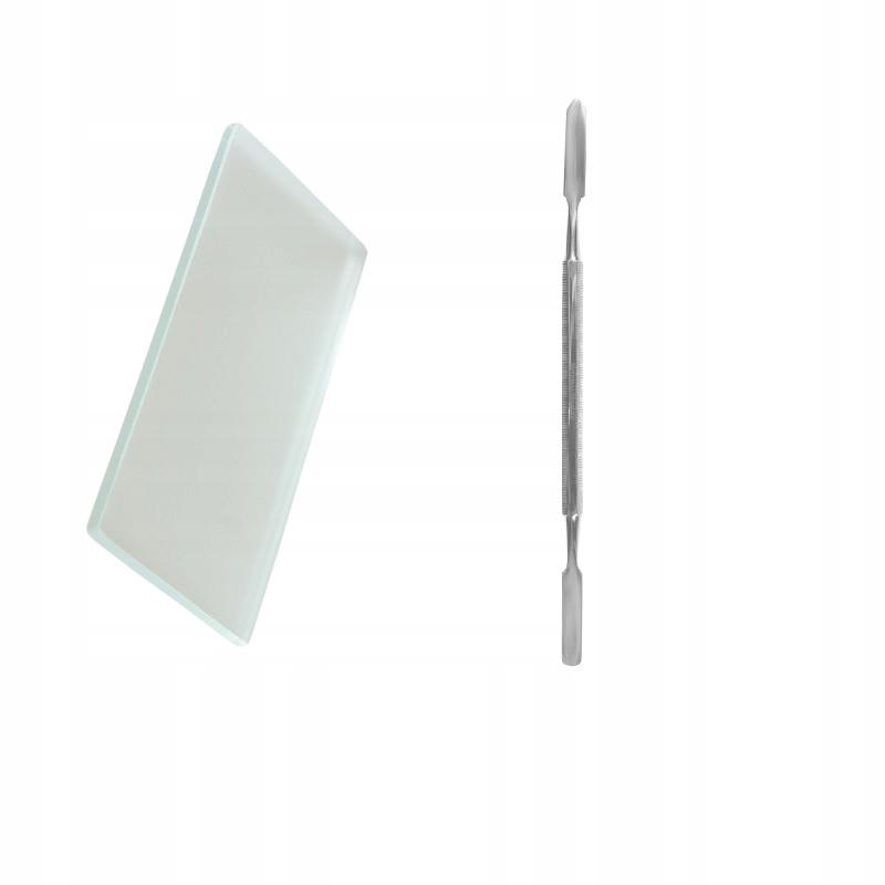 стальной шпатель матовое стекло для цемента