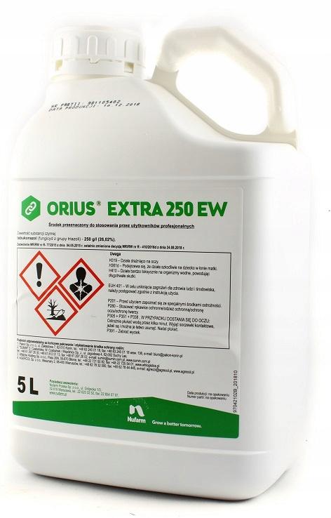 Orius 250 EW Extra 5 litrov Nufarm fungicíd