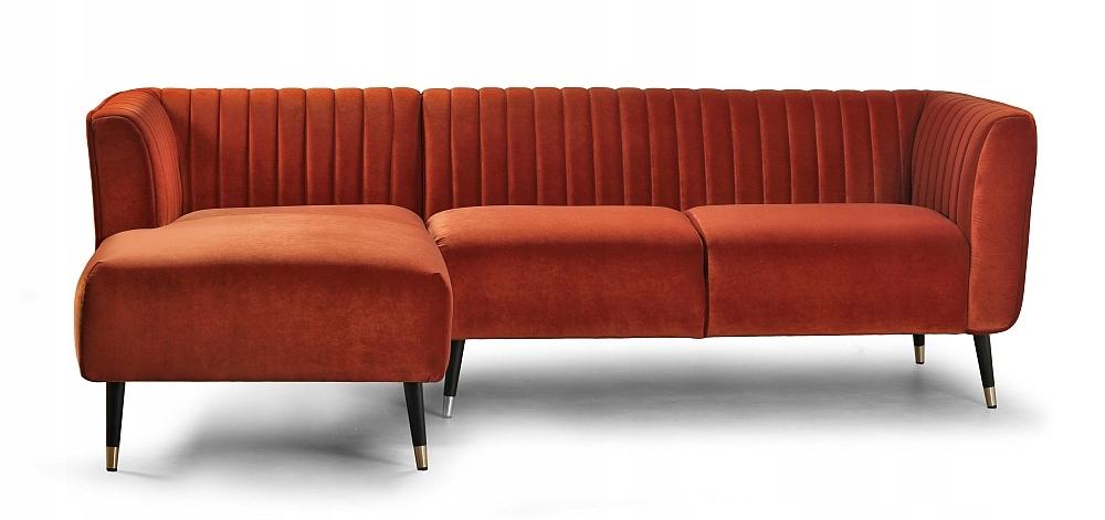 Rohová sedačka Ann 3-sed, retro roh