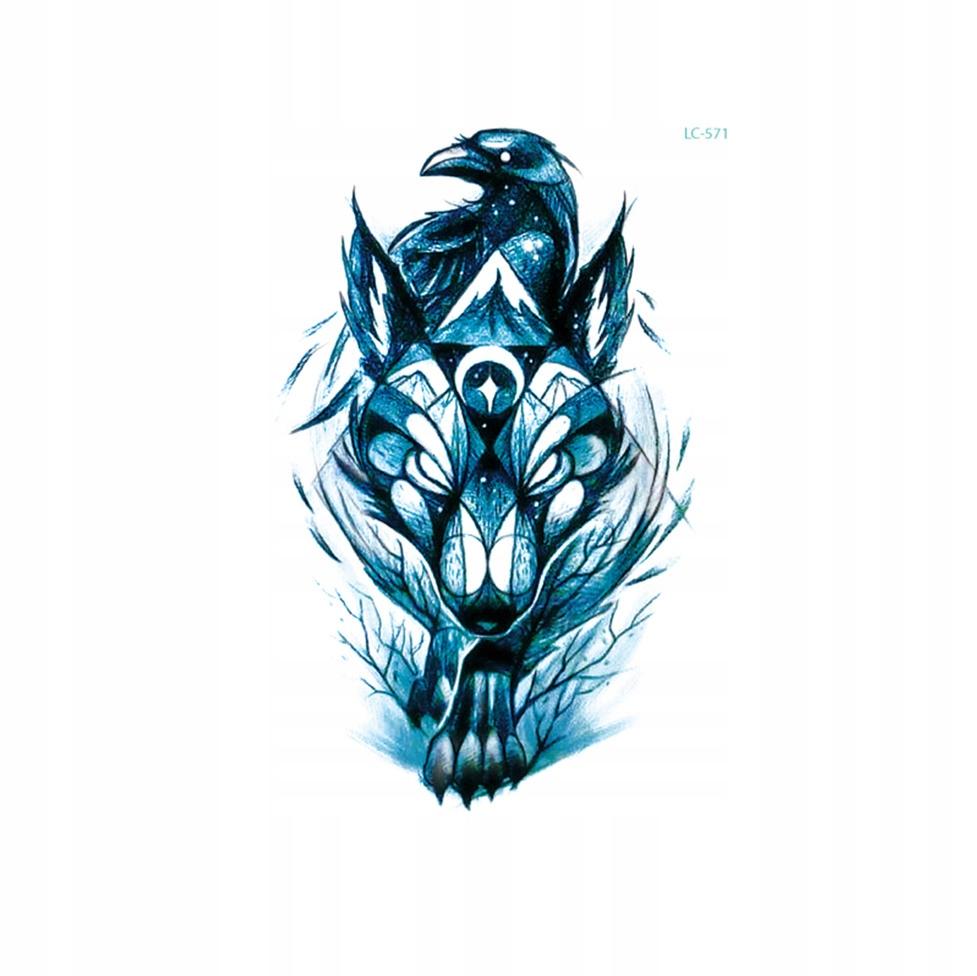 Tatuaż Zmywalny Wilk Vendoriapl