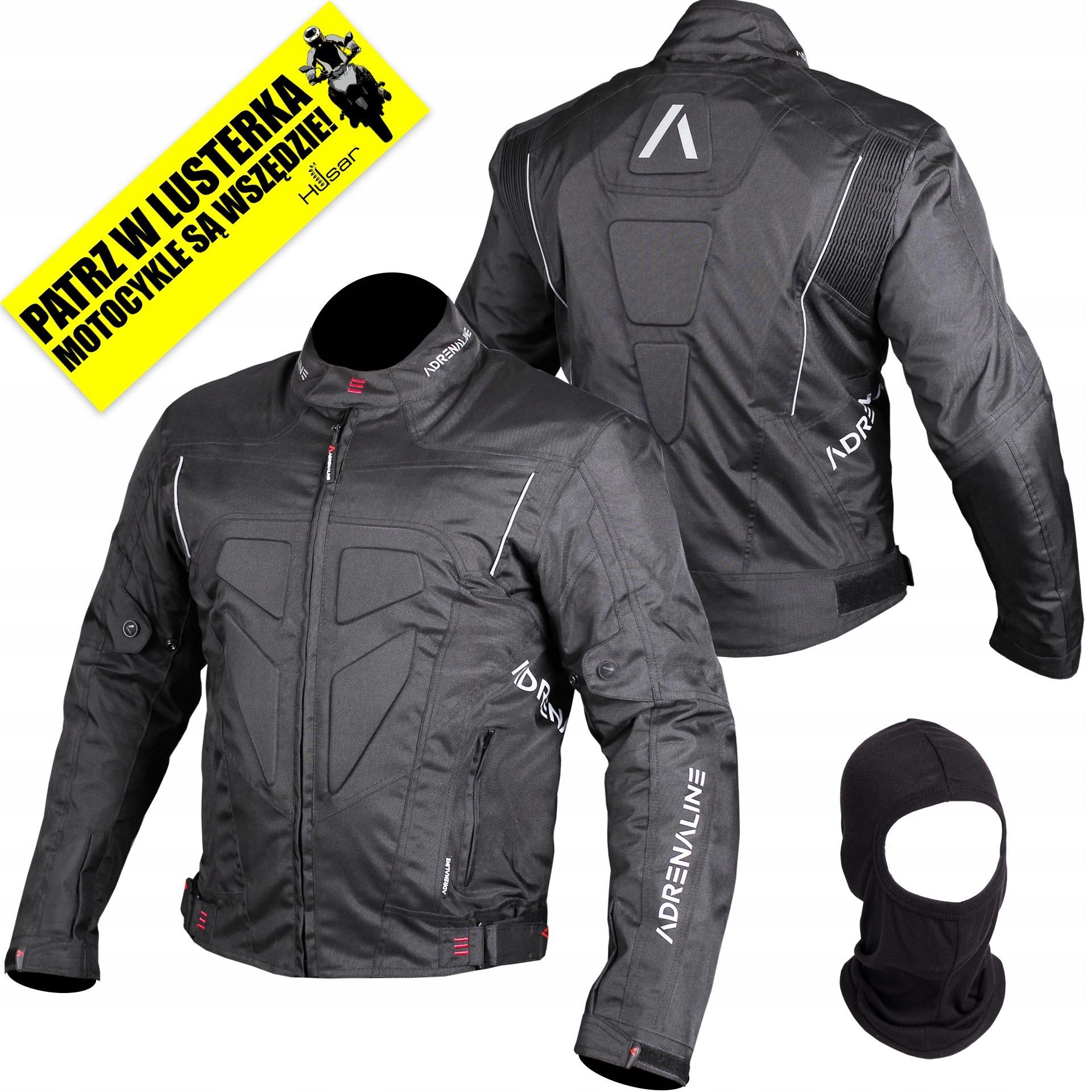 Мотоциклетная куртка ADRENALINE HERCULES черная