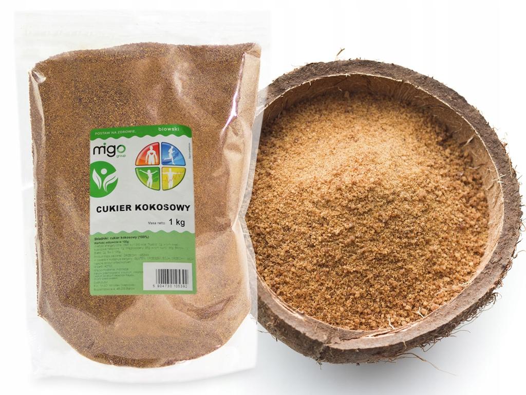 Натуральный кокосовый САХАР ЛАДОНИ 1 кг - MIGOgroup