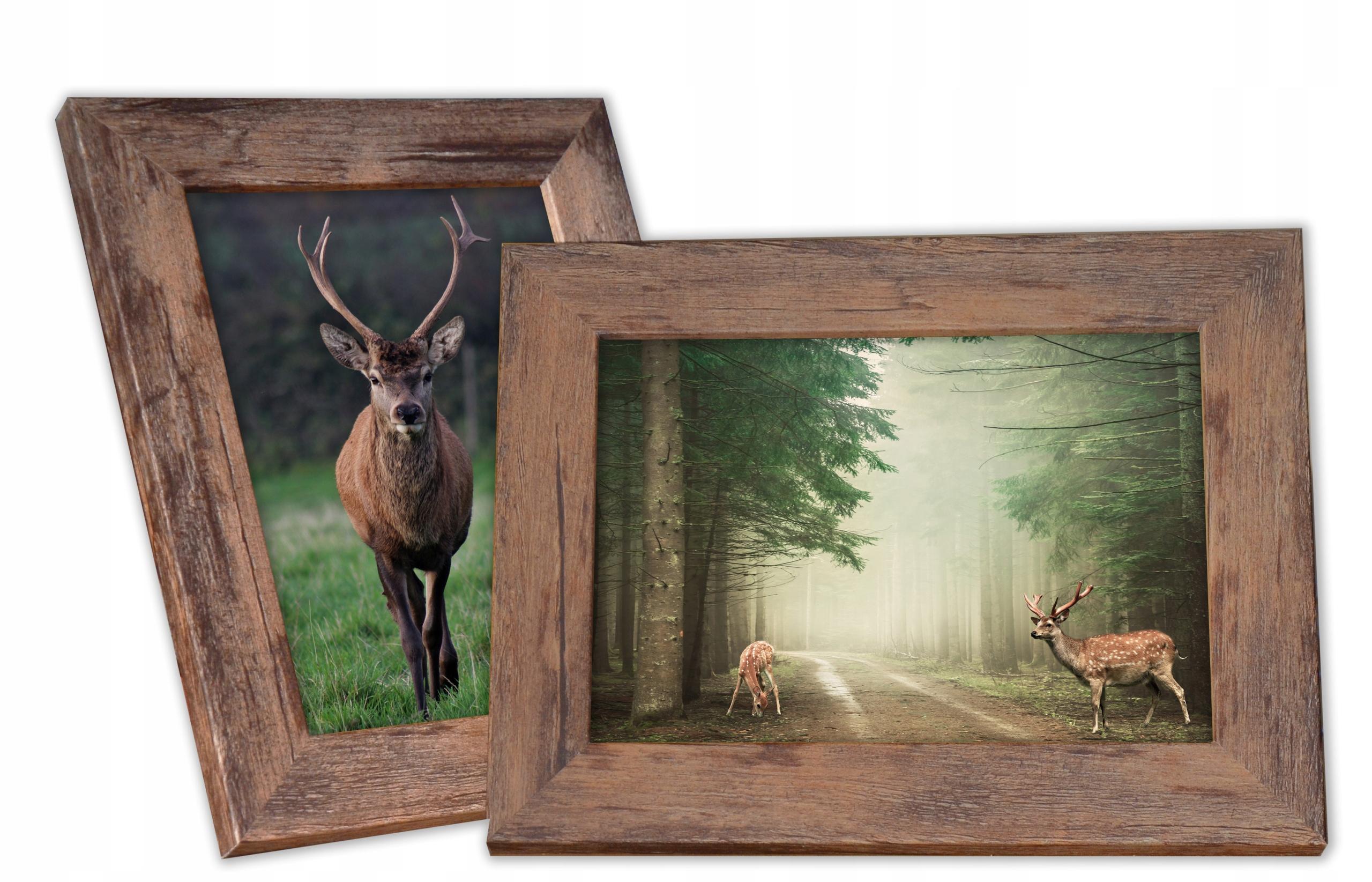 Pandora ramka do zdjęć 15x21 postarzane drewno