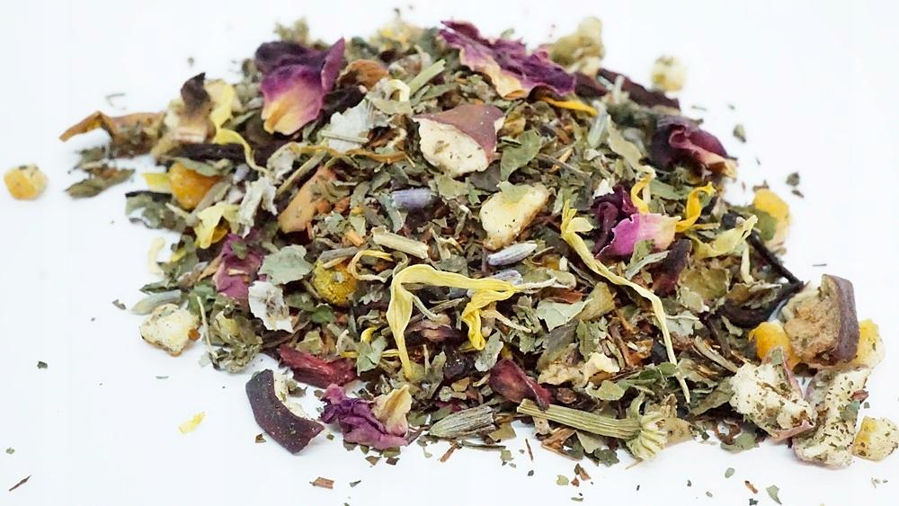 PRÍJEMNÉ SNY 500g bylinný čaj medovky, Rooibos