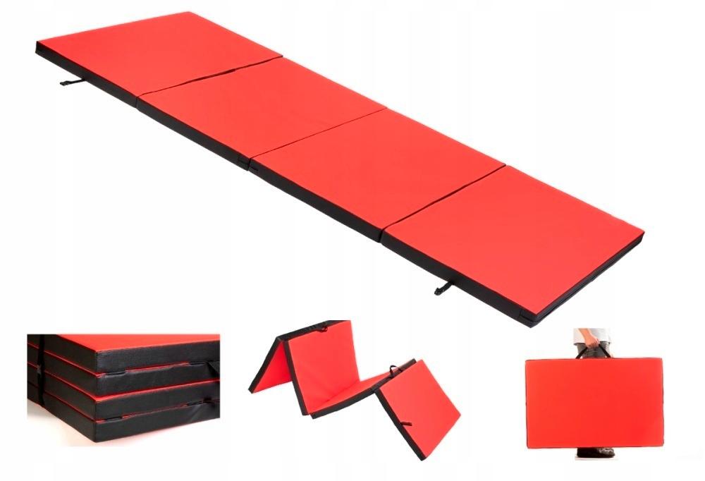 Skladací gymnastický matrac na cvičenie 6/120/260