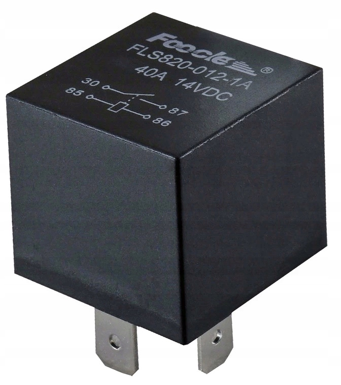 блок автомобильный 12v 40a 4 pin-код плотен