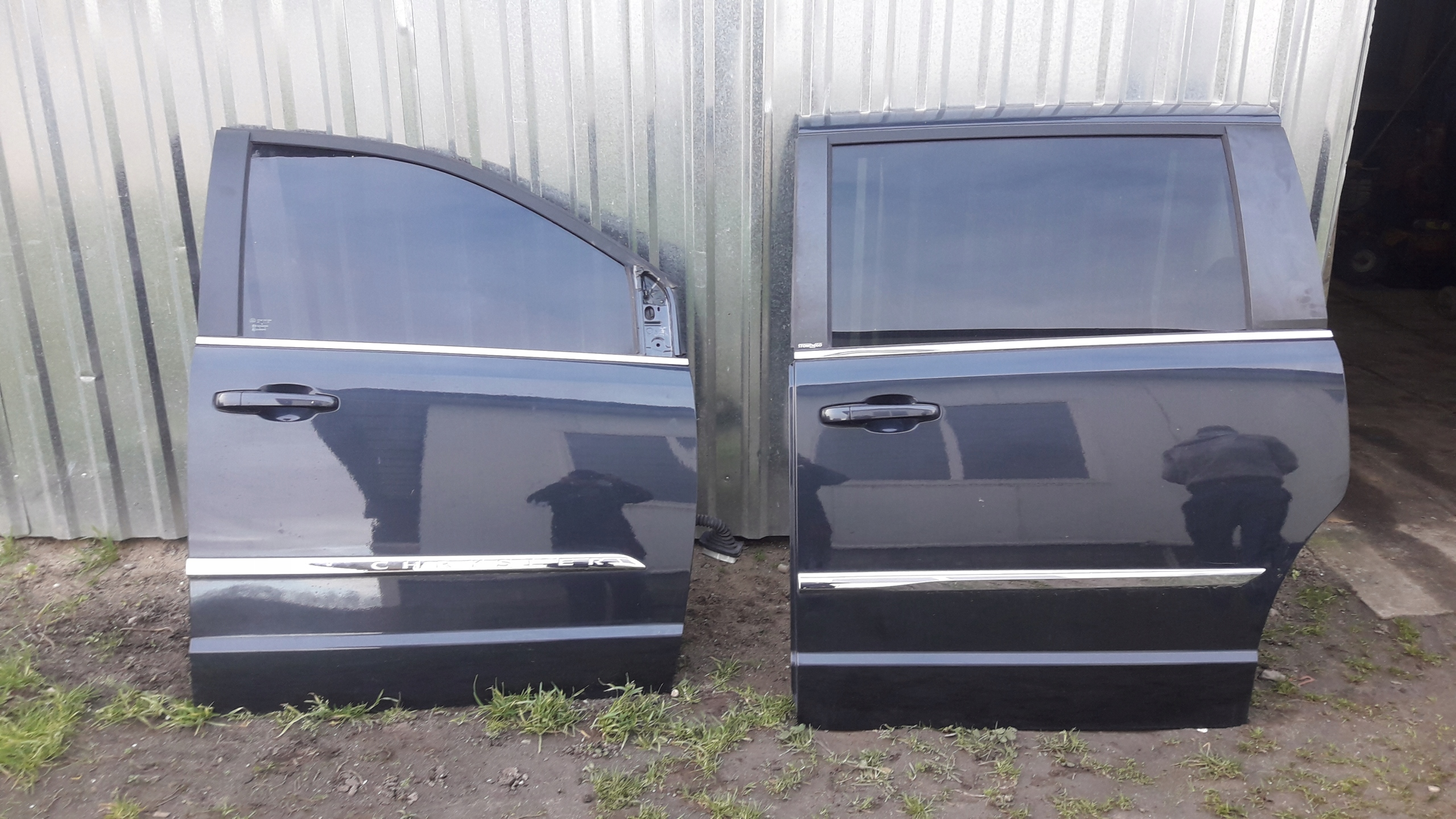 chrysler town country 2011 2016 двери