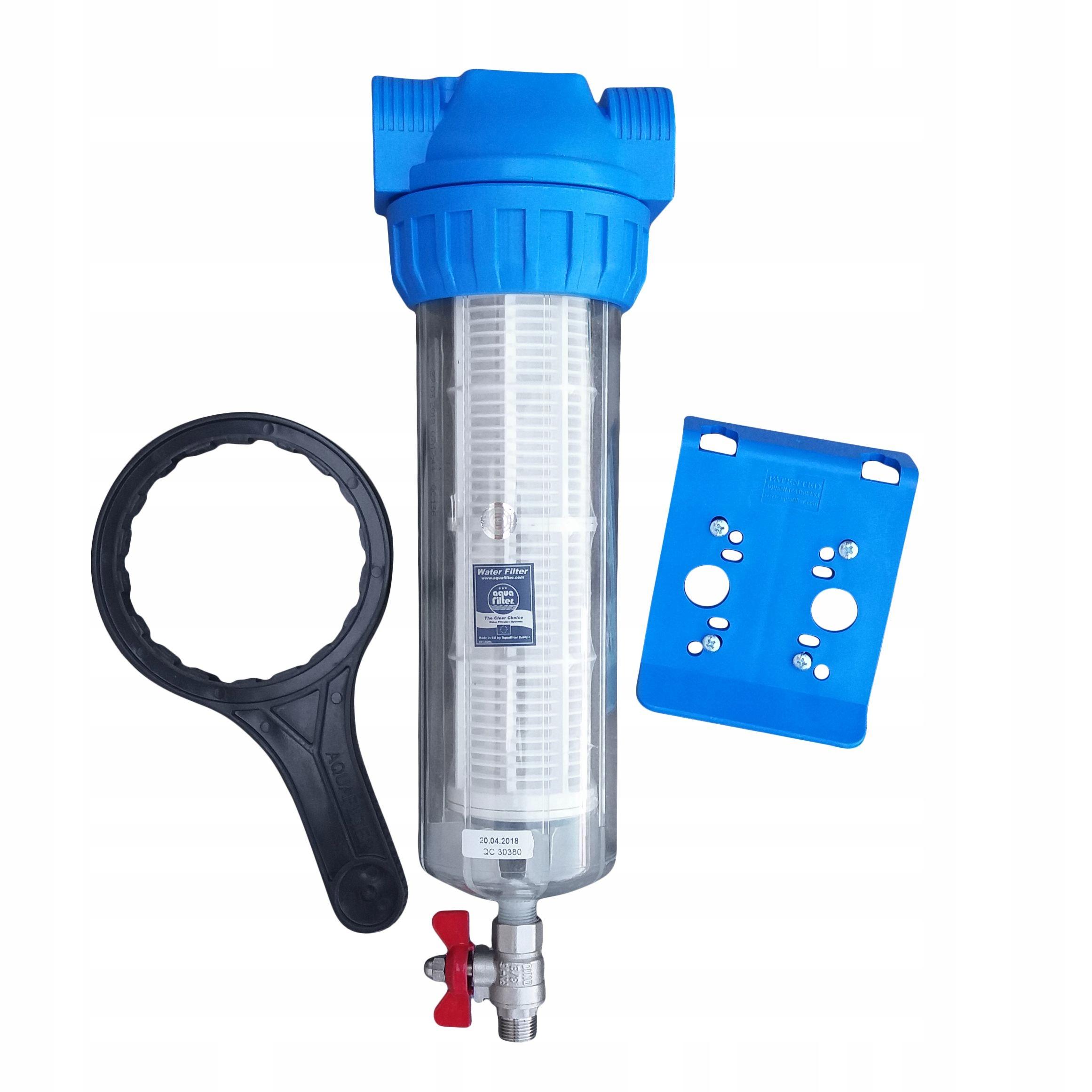 Filtr wody samoczyszczący Aquafilter 50 mik. =