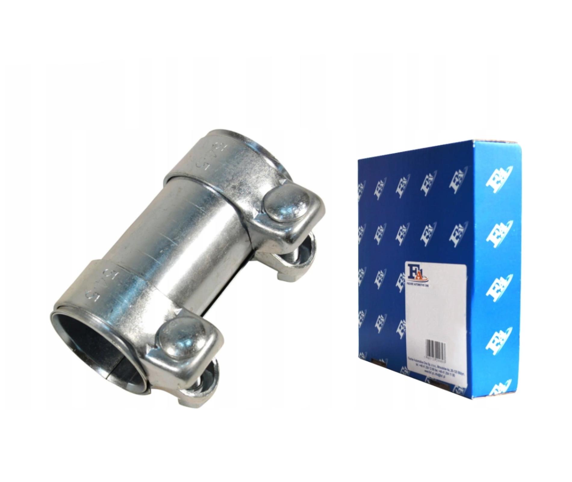 разъем трубы выхлопной 56605x95mm зажим fa1