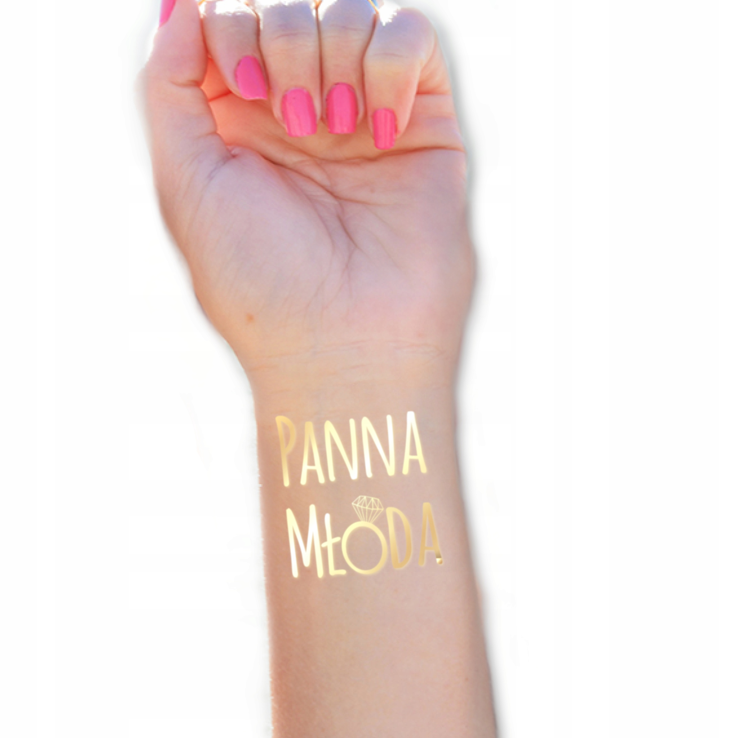 Item Set GOLD TATTOO on bachelorette party of 12 pieces