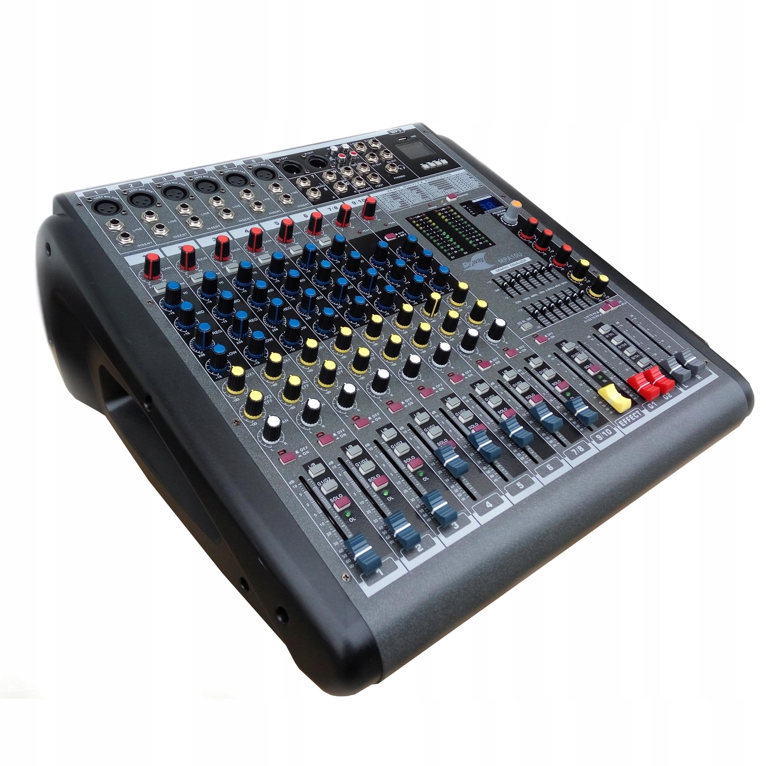 PowerMixer PowerMikser Skyway MPA10U 2X350W FX
