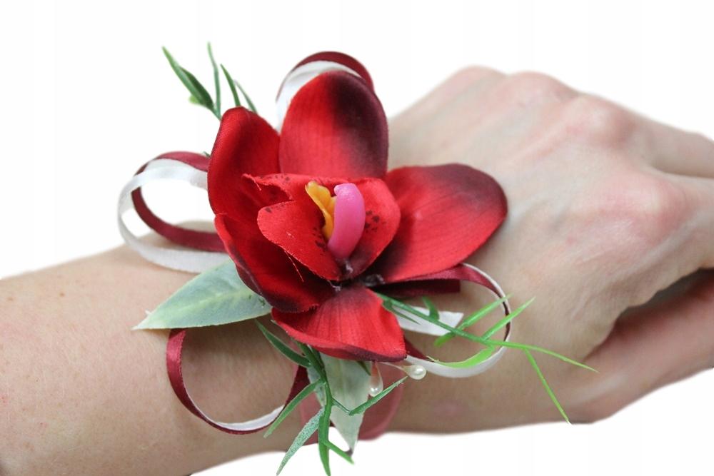 Купить Котильон корсар на руку цветы свадьба КРАСНЫЙ на Otpravka - цены и фото - доставка из Польши и стран Европы в Украину.
