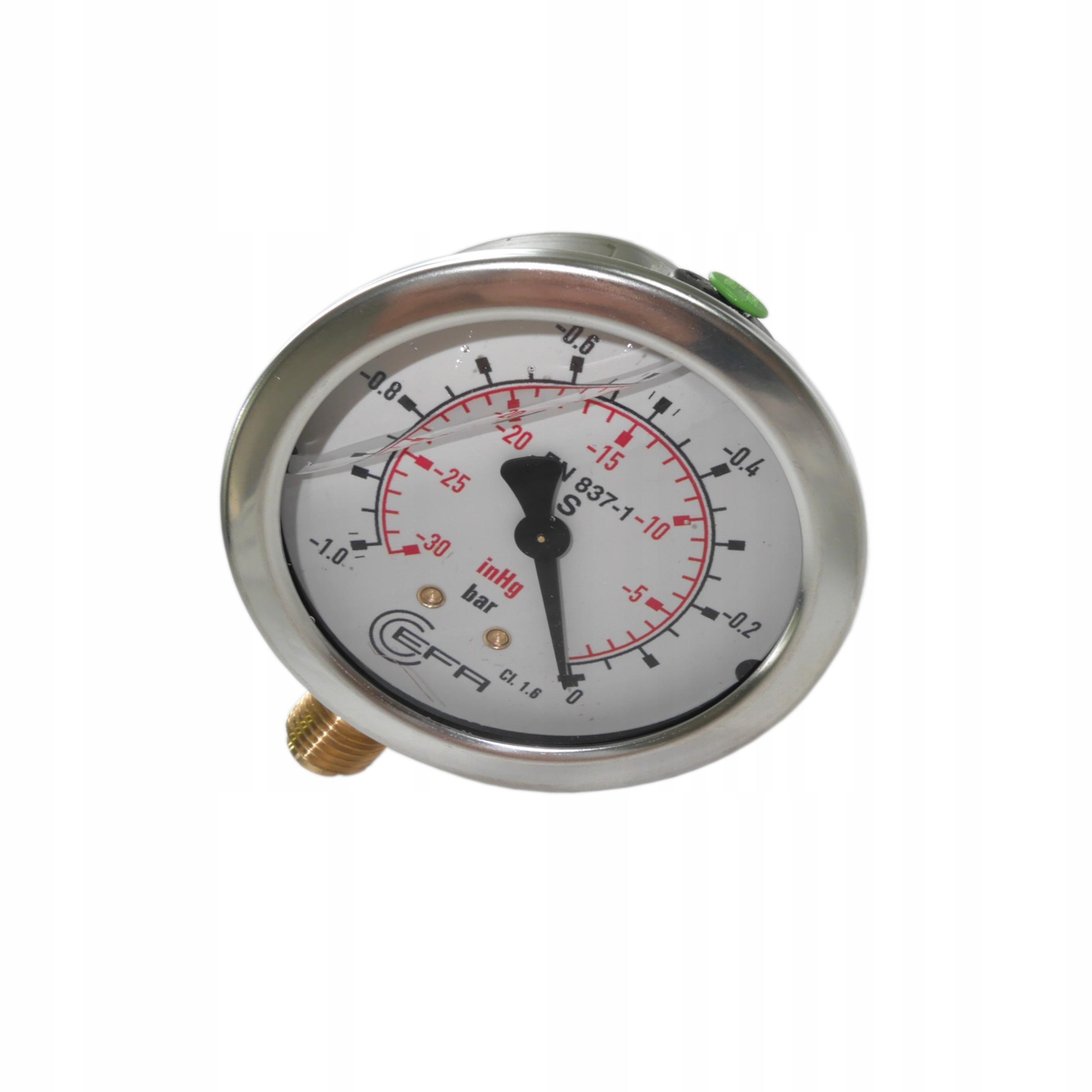 Vaculamometer glycerínový vysielač 0 - (-1)