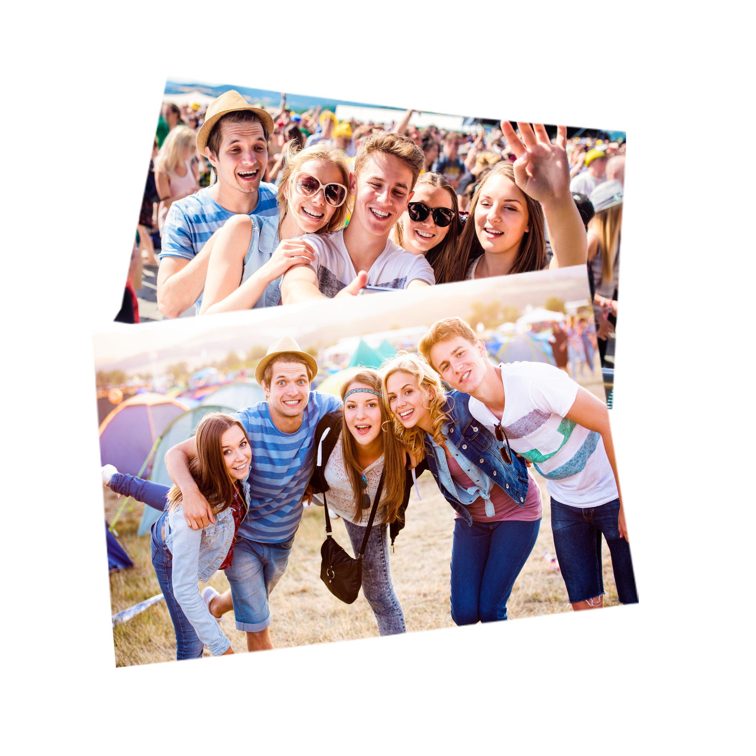 Item 200 photos 10x15 call call prints