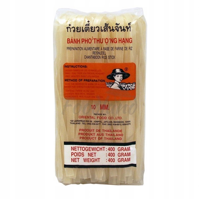 Макароны 10 рисовый крупный 400г Pad Тайский Суп Pho