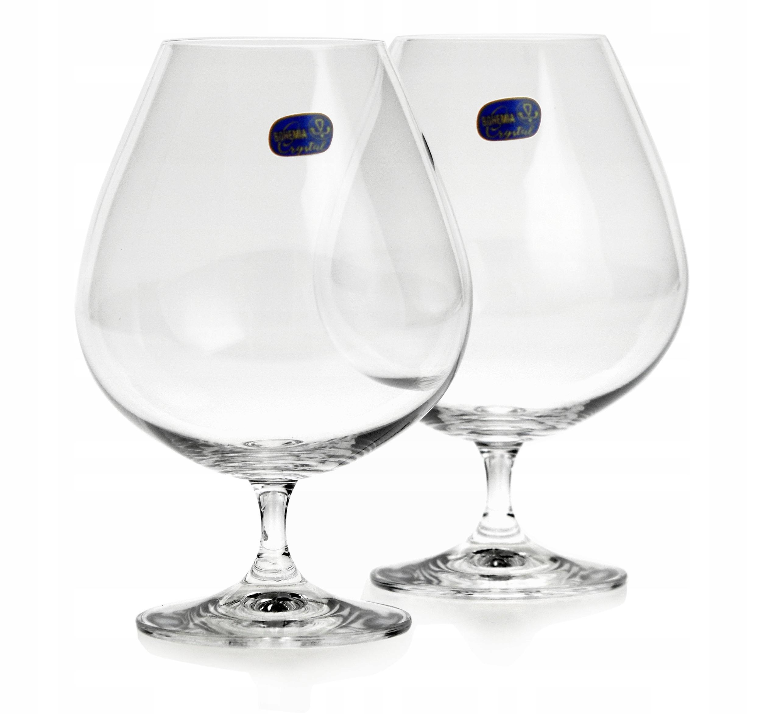 Okuliare cognac BOHEMIA Vintage 875ml 2ks