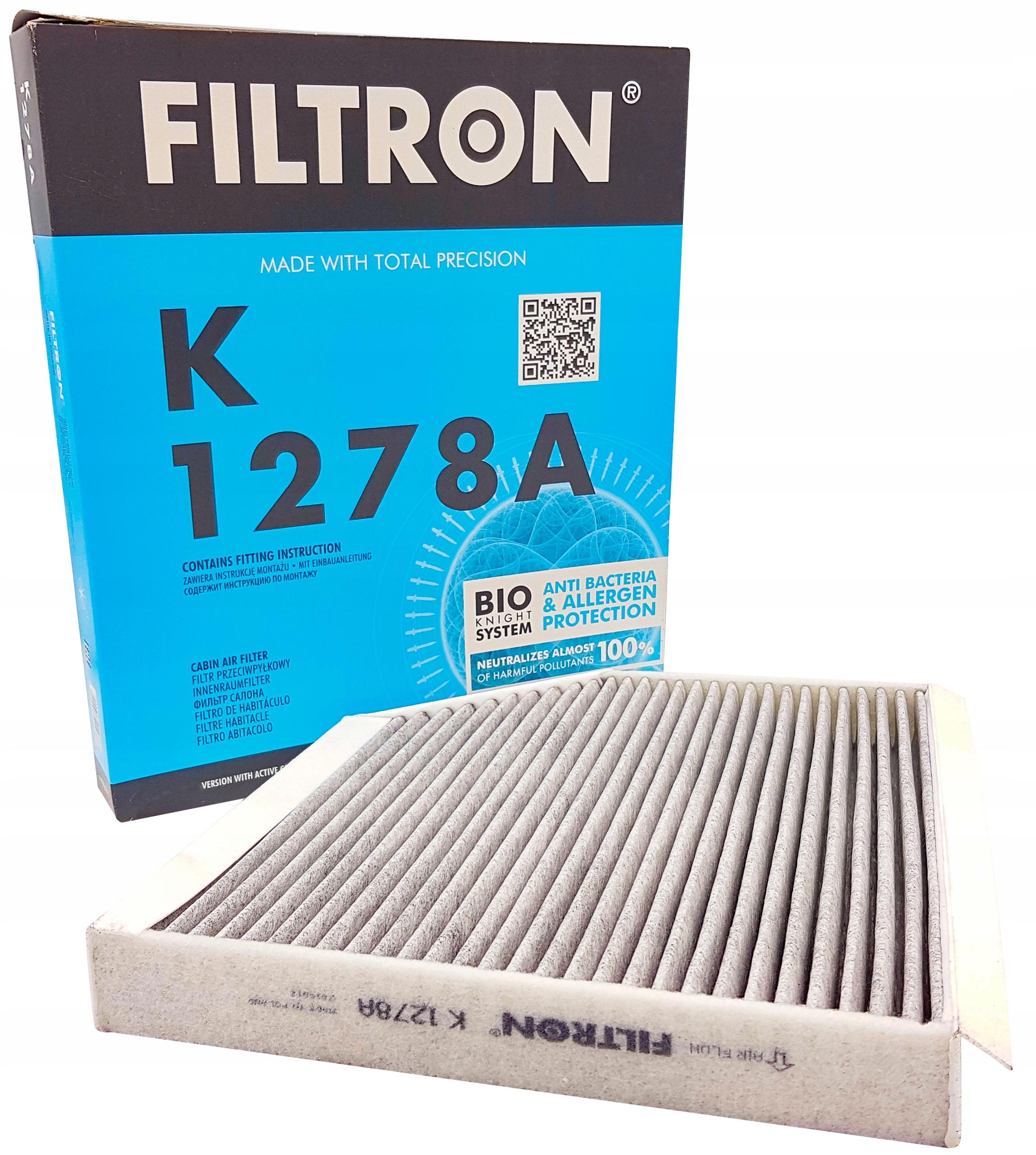 фильтр кабины угольный filtron к audi a4 b8 a5 q5