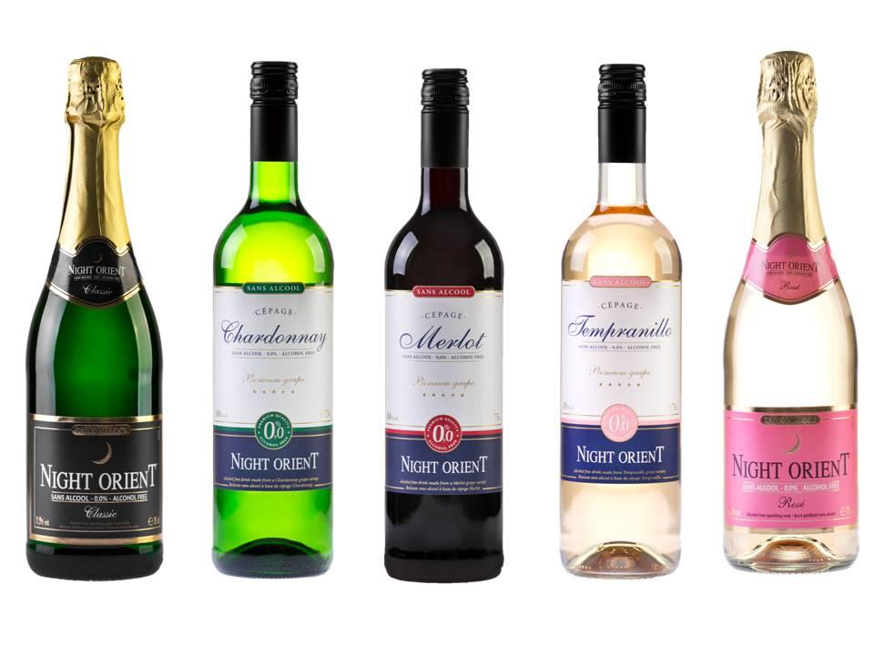 Night Восточный вино безалкогольные напитки 3шт, Шампанское 2шт